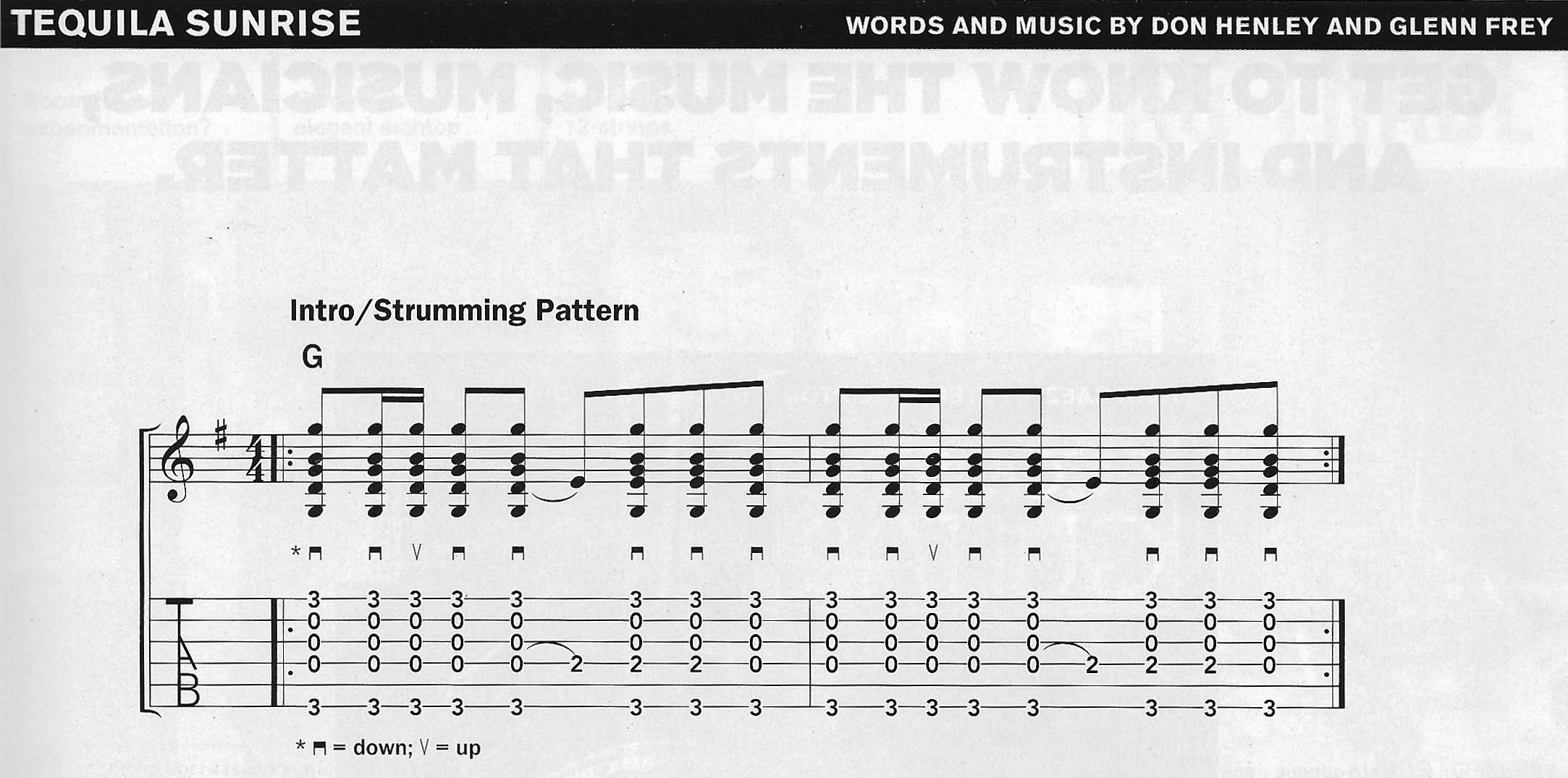Strum Patterns Guitar Playing Technique Guitar Gathering