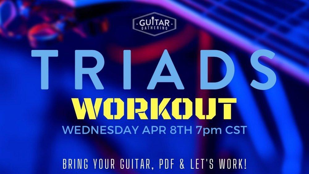 Wednesday Workout - Community Calendar - Guitar Gathering ...